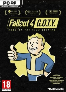 cle cd Fallout 4 GOTY
