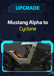 upgrade Mustang Alpha à Cyclone